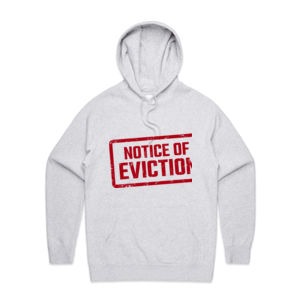 NOTICE OF EVICTION <br>Unisex Hoodie Thumbnail