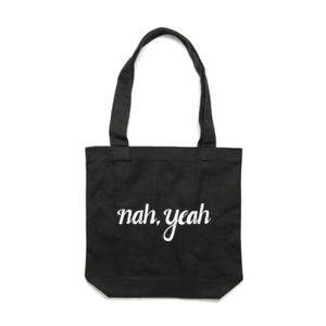 NAH, YEAH <br> Cotton Canvas Tote Thumbnail