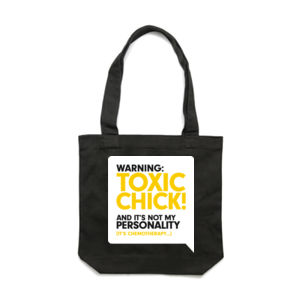 SPEAKY: TOXIC <br> Cotton Canvas Tote Thumbnail