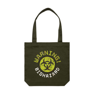 BIOHAZARD WARNING! <br> Cotton Canvas Tote Thumbnail