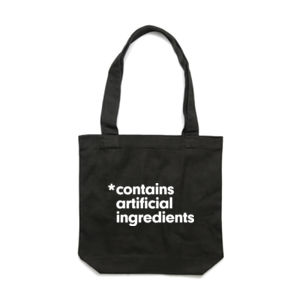 CONTAINS ARTIFICIAL INGREDIENTS <br> Cotton Canvas Tote Thumbnail